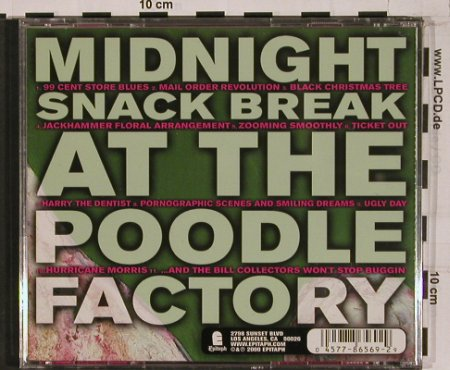 Midget Handjob: Midnight Snack break at t.PoodleF., Epitaph(), US,vg+/m-, 00 - CD - 51482 - 10,00 Euro
