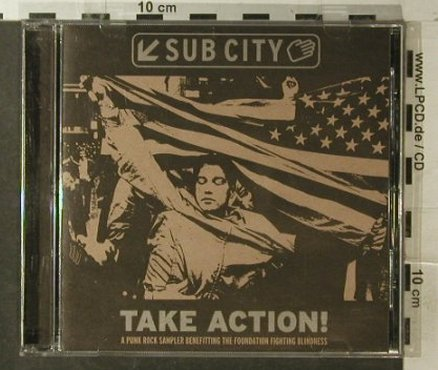 V.A.Take Action: Fifteen...Tha Rabies, 16 Tr., Subcity Rec.(SC001-2), US, 1999 - CD - 51619 - 10,00 Euro
