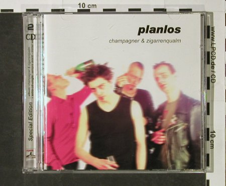 "Planlos: Champagner & Zigarrenqualm, Supermusic(), EU, 2002 - CD+5"" - 51635 - 10,00 Euro"