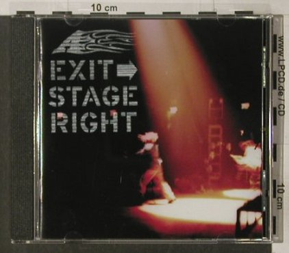 A: Exit Stage Right, 8Tr., London(), UK, 2000 - CD - 51801 - 7,50 Euro