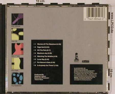 Frankie Goes To Hollywood: Liverpool, Island(7 90546-2), J/US, 1986 - CD - 52176 - 7,50 Euro