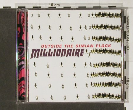 Millionaire: Outside The Simian Flock, vg+/m-, Play it ag(), EU, 01 - CD - 52298 - 7,50 Euro