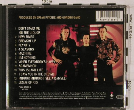 Violent Femmes: New Times, Elektra(), D, 94 - CD - 52341 - 10,00 Euro