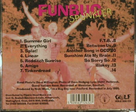 Funbug: Spunkier, Gold(), UK, 95 - CD - 52470 - 4,00 Euro