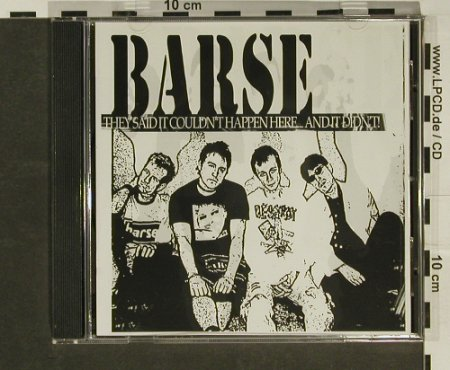 Barse: They said it couldn'thappen here..., Hell'sTone(HTR002), UK, 02 - CD - 52546 - 5,00 Euro