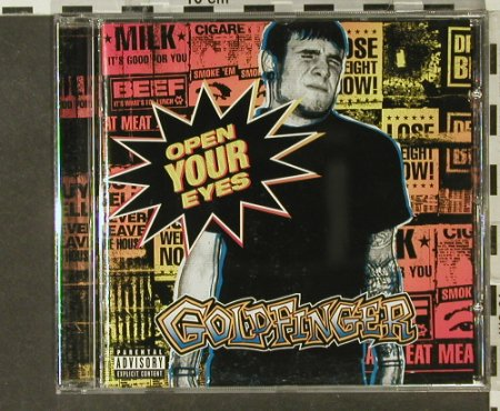 Goldfinger: Open Your Eyes, MoJo Jive(), EU, 02 - CD - 52669 - 5,00 Euro