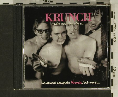 Krunch: Were Back...But We're Evil, Massproduk(), S,  - CD - 52819 - 5,00 Euro