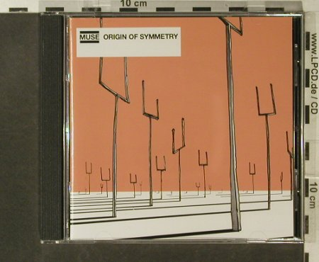 Muse: Origin Of Symmetry, Motor(589 058-2), D, 2001 - CD - 52826 - 10,00 Euro
