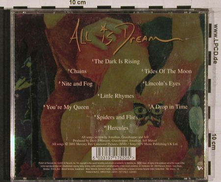 Mercury Rev: All Is Dream, V2(), EC, 2001 - CD - 53008 - 10,00 Euro