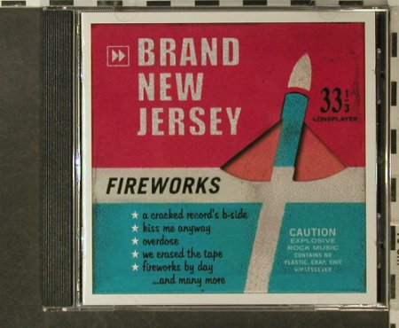 Brand New Jersey: Fireworks, tfr(), D, 2003 - CD - 53215 - 5,00 Euro