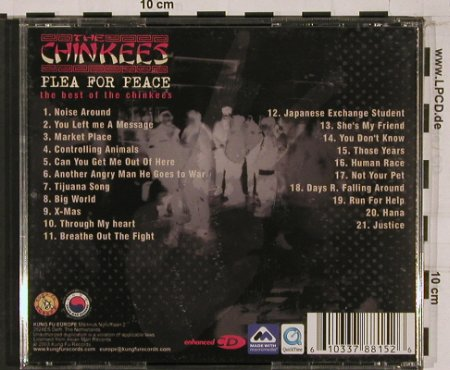 Chinkees,the: Plea for Peace, the Best of the.., KungFu(), EU, 03 - CD - 53466 - 7,50 Euro
