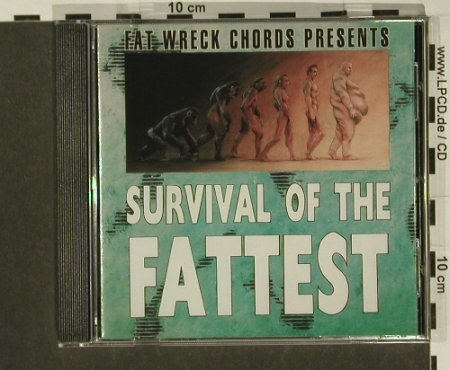 V.A.Survival Of The Fattest: 17Tr.., Fat Wreck(), ,  - CD - 53579 - 10,00 Euro