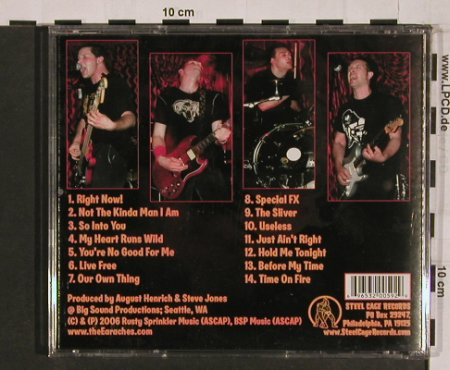 Earaches: Time on Fire, Steel Cage Rec.(), US, 2006 - CD - 53618 - 11,50 Euro