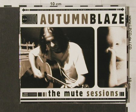 Autumnblaze: The Mute Session, Digi, Prophecy(), D, 2003 - CD - 53629 - 5,00 Euro