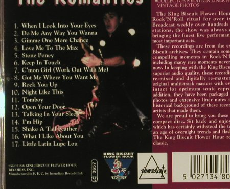 Romantics: In Concert, King B.(), EEC, 96 - CD - 53631 - 5,00 Euro