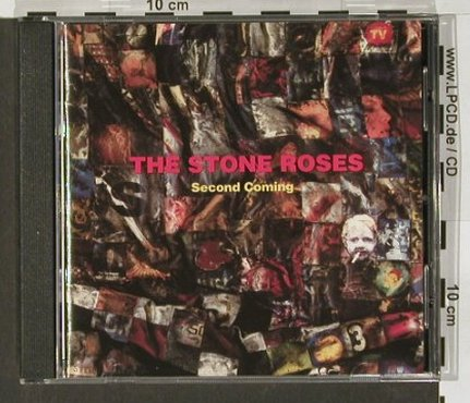 Stone Roses: Second Coming, vg+/m-, Geffen(), D, 94 - CD - 53894 - 5,00 Euro