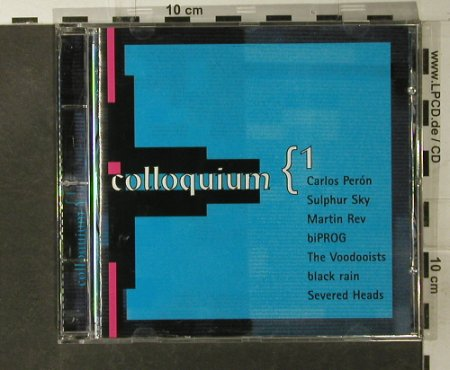 V.A.Colloquium 1: 9 Tr.(Carlos Peron,Martin Rev), Dark Star(1367-2), D, 1995 - CD - 54094 - 5,00 Euro