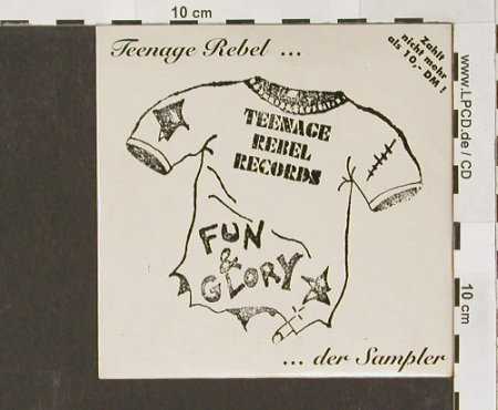 V.A.Teenage Rebel: ...der Sampler, 30 Tr.,Digi, TR cd 050(), D, 95 - CD - 54483 - 5,00 Euro