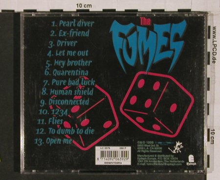 Fumes: Pure Bad Luck, Epitaph(), , 98 - CD - 54713 - 12,50 Euro