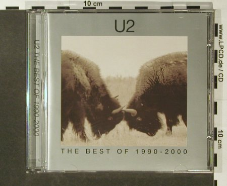 U2: The Best Of 1990-2000, PolyGram(), EU, 2002 - CD - 54725 - 10,00 Euro