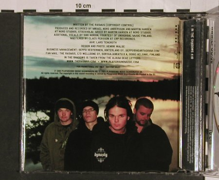 Rasmus,The: In The Shadow, 1Tr. Promo, Playground(), EU, 2003 - CD5inch - 54784 - 5,00 Euro