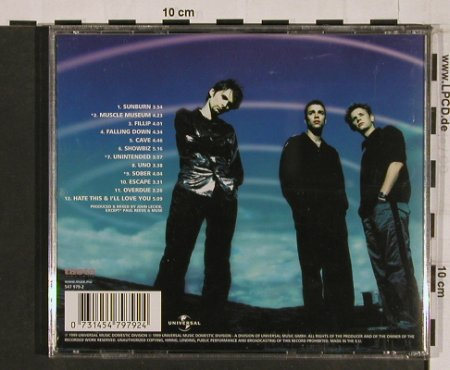 Muse: Showbiz, Motor(547 979-2), D, 1999 - CD - 54898 - 10,00 Euro