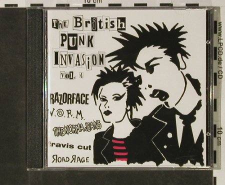 V.A.The British Punk I: Vol.4,31 Tr., m-/vg+, High Society Int.(HSI 11), D, 1998 - CD - 55008 - 7,50 Euro