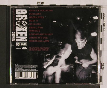 Righteous Jams: Rage of Discipline, Broken Sound Kung Fu(), , 2005 - CD - 55257 - 11,50 Euro