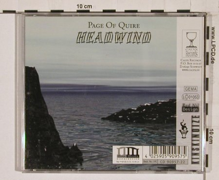 Headwind: Page Of Quire, Calyx(), D, 00 - CD - 55313 - 7,50 Euro