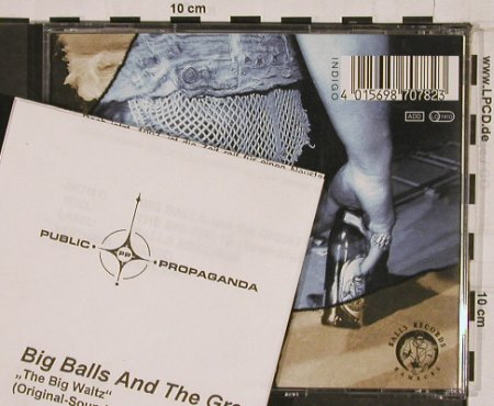 Big Balls & Great White Idiot: The Big Waltz, Facts, Balls Rec.(), D, 96 - CD - 55528 - 5,00 Euro