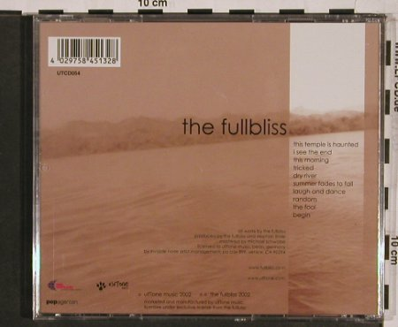 Fullbliss, the: This Temple is haunted, Ulftone(), , 02 - CD - 55580 - 10,00 Euro