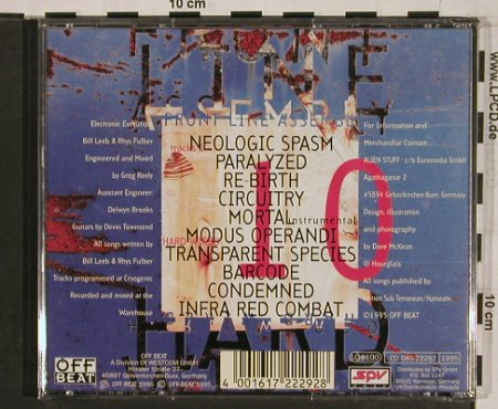 Front Line Assembly: Hard Wired, Off Beat(085-22292), D, 1995 - CD - 55837 - 10,00 Euro