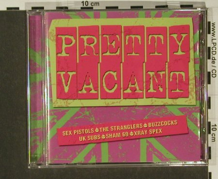 V.A.Pretty Vacant: Sex Pistols...999, 16 Tr., Castle(), UK, 99 - CD - 55901 - 5,00 Euro