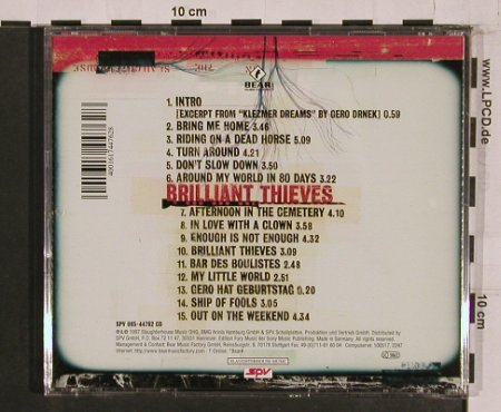 Fury In The Slaughterhouse: Brilliant Thieves, 15 Tr., SPV(), D, 1997 - CD - 56062 - 7,50 Euro