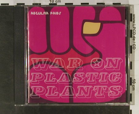 Regular Fries: War On Plastic Plants, JBO(), UK, 2000 - CD - 56113 - 10,00 Euro