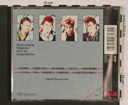 Mr.Mister: Welcome To The Real World, RCA(PD 89647), F, 1985 - CD - 56252 - 7,50 Euro