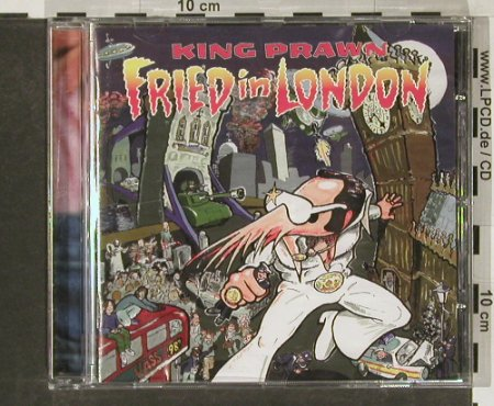 King Prawn: Fried in London, WordsO.W.(wowCD54), UK, 98 - CD - 56273 - 3,00 Euro