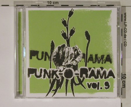 V.A.Punk-O-Rama Vol.9: 25 Tr.+12 Tr. DVD, Epitaph(), NL, 04 - CD/DVD - 56284 - 11,50 Euro