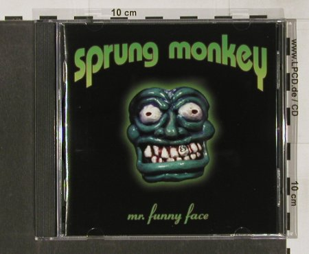 Sprung Monkey: Mr.Funny Face, Hollywood(), D, 98 - CD - 56356 - 7,50 Euro