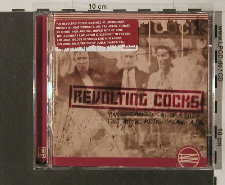 Revolting Cocks: You Damn Son of a Bitch/Live Metro, Ryko(), EU, 2004 - 2CD - 56824 - 14,00 Euro