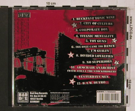 Runnin' Riot: Built in Belfast, Bad Dog(), , 2004 - CD - 56863 - 11,50 Euro