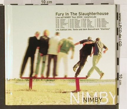 Fury In The Slaughterhouse: Nimby, Digi book, SPV(), D, 04 - CD - 56965 - 12,50 Euro