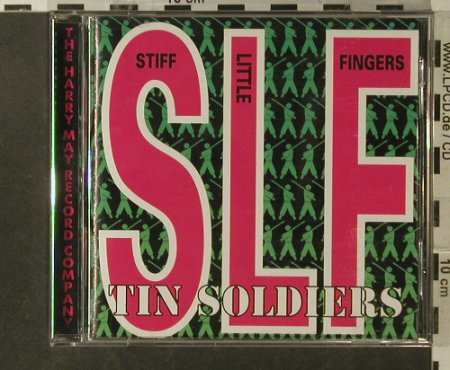Stiff Little Fingers: Tin Soldiers, Harry May Record Company(MAYO CD 105), UK, 1999 - CD - 57013 - 10,00 Euro