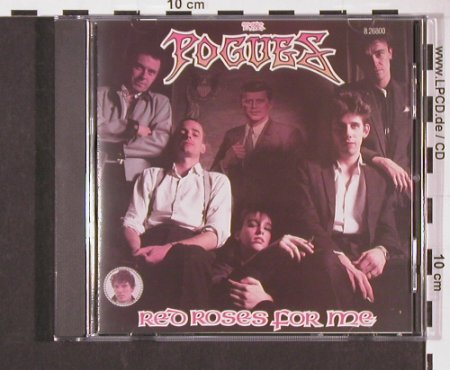 Pogues: Red Roses For Me(84), Upfront / Teldec(8.26800 ZP), D, 1988 - CD - 57130 - 10,00 Euro