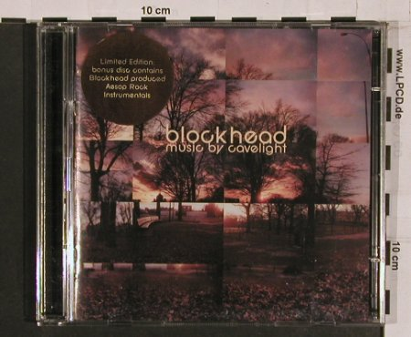 Blockhead: Music By Cavelight, Lim Ed., Ninja Tune(), UK,  - 2CD - 57213 - 14,00 Euro