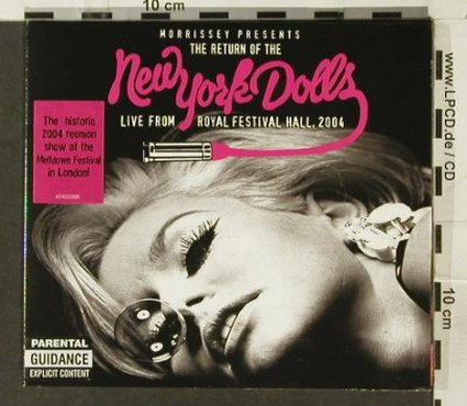 New York Dolls: Morrissey pres.The Return of the, Attack(), EU, 2004 - CD - 57470 - 10,00 Euro