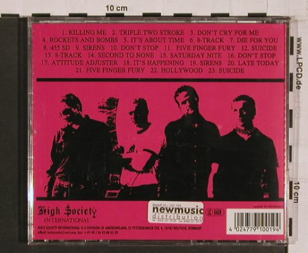 Stiletto Boys: Rockets And Bombs, High Society Int.(HSI 19), D, 1999 - CD - 57526 - 11,50 Euro