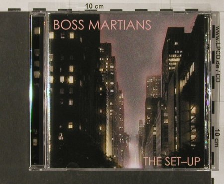 Boss Martians: The Set-Up, India Records(), , 2005 - CD - 57652 - 10,00 Euro