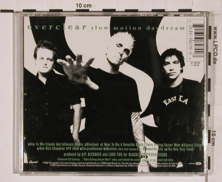 Everclear: Slow Motion Daydream, Capitol(), EU, 03 - CD - 57773 - 10,00 Euro