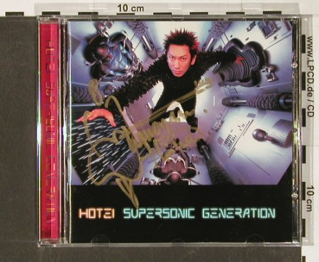 Hotei: Supersonic Generation, EMI(), EU, 98 - CD - 57866 - 7,50 Euro